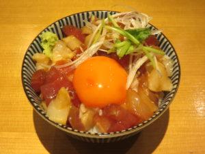 醤油らぁ麺@らぁ麺 吉井 勝どき店:吉井特製丼