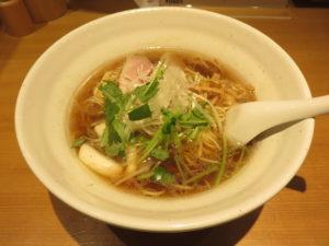 醤油らぁ麺@らぁ麺 吉井 勝どき店:ビジュアル