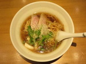 醤油らぁ麺@らぁ麺 吉井 勝どき店:ビジュアル:トップ