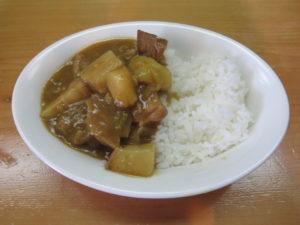 いりこそば@讃岐ラーメン 香麦-komugi-:ビジュアル:昔なつかしぶた肉たっぷりカレー(中辛)