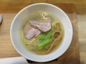 塩らーめん@自家製麺 和屋:ビジュアル:トップ