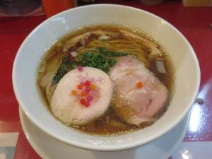 中華そば(並)@Noodles Kitchen GUNNERS 大門浜松町店:ビジュアル