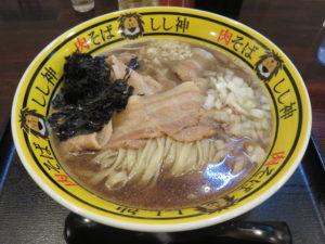 肉煮干ラーメン@肉そば しし神:ビジュアル