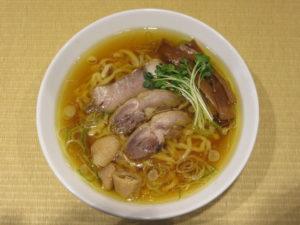 親鶏中華そば(中太麺)@手打 親鶏中華そば 綾川:ビジュアル:トップ