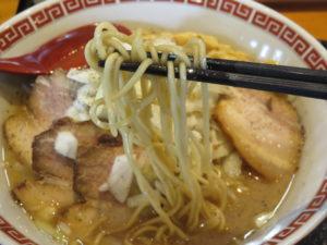 千夏っちゃんラーメン@Good Day Ramen 千夏9 旭店(干潟駅)麺