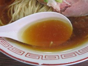 醤油らぁ麺@らぁ麺 大金星(横瀬駅)スープ