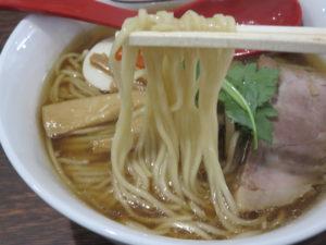 中華そば 醤油@中華そば 燕屋商店(埼玉県東松山市)麺