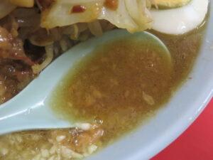 富士丸ラーメン@ラーメン富士丸 東浦和店(東浦和駅)スープ