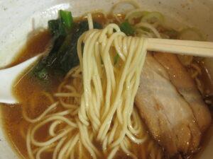 煮干しそば@濃厚煮干しそば 丸にたちばな(橋本駅)麺