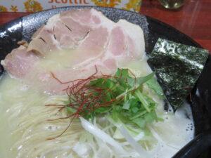 鶏塩そば@麺屋 綴(金町駅)具