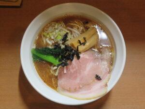 丸鶏醤油@麺屋 鶏いち(和田町駅)ビジュアル:トップ
