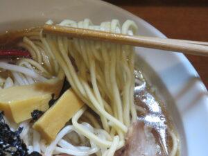 丸鶏醤油@麺屋 鶏いち(和田町駅)麺