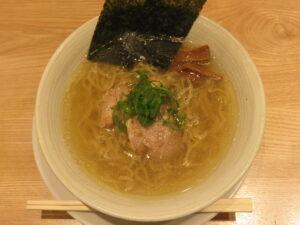 塩らぁ麺@麺屋YAMATO(三鷹台駅)ビジュアル:トップ