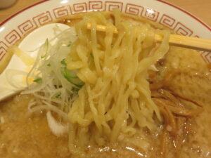 味噌ラーメン@きたかた食堂 本八幡店(本八幡駅)麺