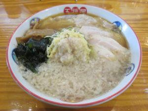 背脂生姜ワンタン麺@五福星(泉中央駅)ビジュアル