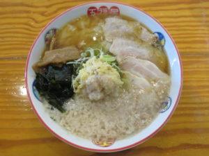 背脂生姜ワンタン麺@五福星(泉中央駅)ビジュアル:トップ