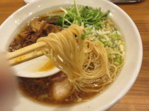 中華そば@大衆食堂ゆしまホール(湯島駅)麺