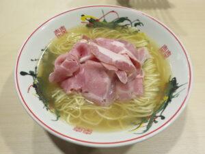 塩ラーメン@ぷれじでんと(本郷三丁目駅)ビジュアル