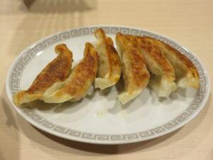 塩ラーメン@ぷれじでんと(本郷三丁目駅)ギョウザ