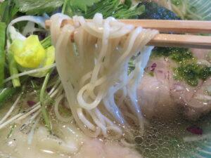 鯛しおわんたん蕎麦@麺師 井じま(埼玉県秩父市)麺