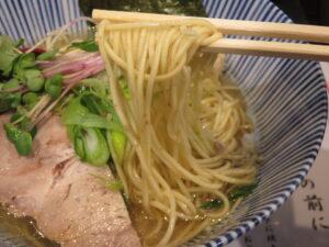 白糸中華そば@中華そば 糸(秋葉原駅)麺