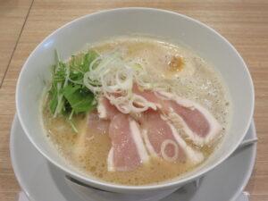 鶏白湯ラーメン@鶏白湯そば ひまり(お花茶屋駅)ビジュアル