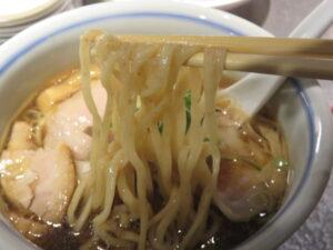 REGULAR(醤油ラーメン)@駄目な隣人(人形町駅)麺