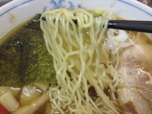 頑固おやじ 涙の醤油らーめん@らーめん勇志郎製麺研究所(小田急相模原駅)麺