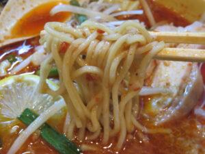 辛味噌DARSもぐらー麺@塩生姜らー麺専門店 MANNISH 浅草店(浅草駅)麺