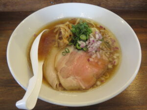 鶏蕎麦(醤油)@鳥長水産(水戸駅)ビジュアル