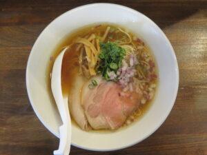 鶏蕎麦(醤油)@鳥長水産(水戸駅)ビジュアル:トップ