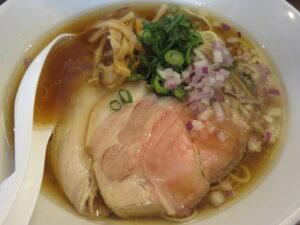 鶏蕎麦(醤油)@鳥長水産(水戸駅)具
