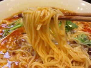 酸辣湯麺@SHIBIRE NOODLES 蝋燭屋 大宮店(大宮駅)麺