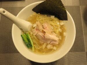 昆布の塩らー麺@昆布の塩らー麺専門店 MANNISH 東日本橋店(東日本橋駅)ビジュアル:トップ