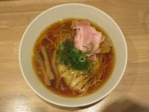 鶏醤油そば@中華そば つるや(浜田山駅)ビジュアル:トップ