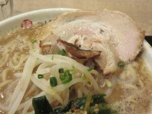 豚骨魚介ラーメン@つけ麺 太輔(田原町駅)具:豚チャーシュー