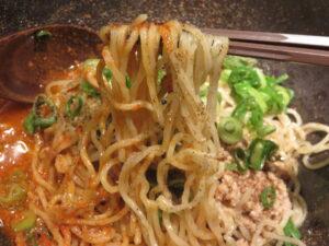汁なし担担麺(4辛)@汁なし担担麺専門 キング軒 神田スタンド(神田駅)麺