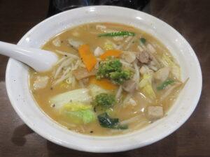 辛口味噌タンメン@自家製多加水極太麺 ISAMI(高坂駅)ビジュアル