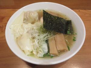 ワンタン山椒そば@麺堂にしき 新宿歌舞伎町店(西武新宿駅)ビジュアル