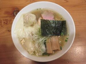 ワンタン山椒そば@麺堂にしき 新宿歌舞伎町店(西武新宿駅)ビジュアル:トップ