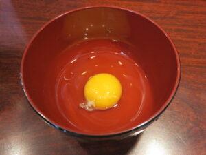 スタミナ中華@中華そば たた味(小伝馬町駅)生卵