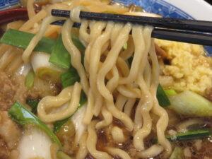 スタミナ中華@中華そば たた味(小伝馬町駅)麺