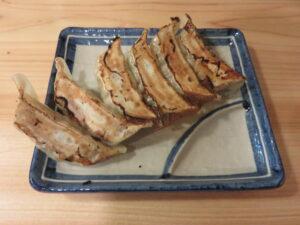中華そば(並盛)@豆天狗 本店(高山駅)餃子