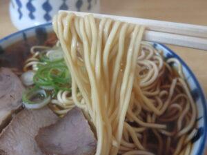 中華そば@丸デブ 総本店(名鉄岐阜駅)麺