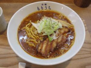札幌スパイシーラーメン さらうま(中辛)@北ノ麺 もりうち(京急鶴見駅)ビジュアル:サイド