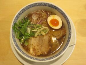 7種の魚介塩そば@鶏そば 久遠(南林間駅)ビジュアル:トップ