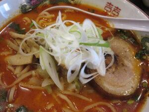 四川風担々麺(中辛・平打ち麺)@時ちゃんラーメン 新中野店(新中野駅)具