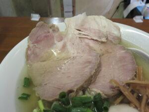 Do-jin RAMEN(手揉み麺)@自家製手打ち麺 Do-jin(本川越駅)具:豚チャーシュー