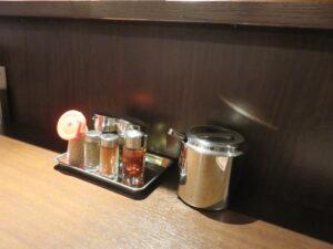 ラーメン@赤のれん東京(乃木坂駅)調味料