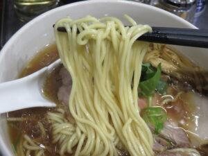 蛤らーめん@らーめん はましょう(落合南長崎駅)麺